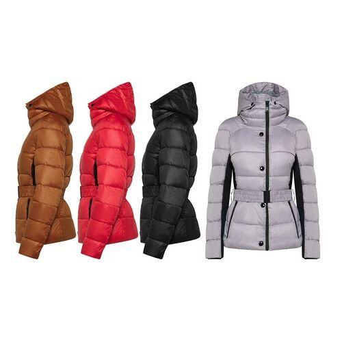 Groupon Goods Global GmbH Damen-Parka mit abnehmbarer Kapuze in der Farbe und Größe nach Wahl