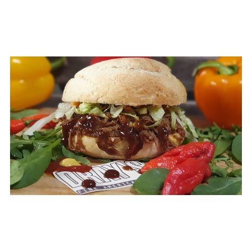 Dray's Selbstgemachter Burger nach Wahl inkl. French Fries mit Sauce für bis 4 Personen