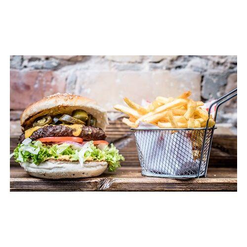 Lion Burger Hausgemachter Cheeseburger mit Pommes und hausgemachter Limonade bei Lion Burger (bis zu 36% sparen*)