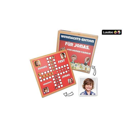 """Luudoo Personalisierte Brettspiele """"Ärgern verboten"""", Backgammon oder Schach mit Fotos von Luudoo (bis zu 22% sparen*)"""