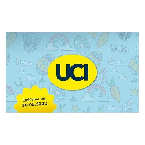 UCI Kino 2, 5 oder 10 Kinogutscheine für alle 2D-Filme inkl. Film- & Platzzuschlag in den UCI Kinos (bis zu 54% sparen*)
