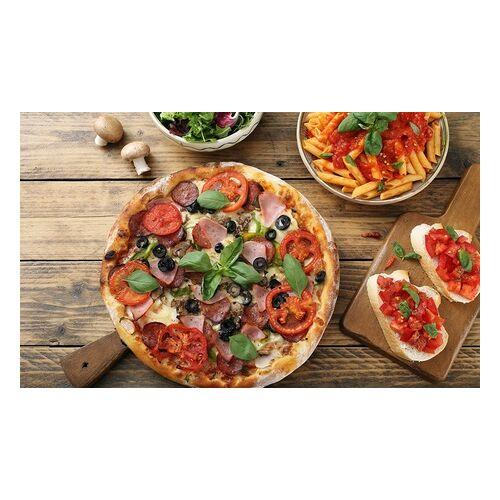 La Pizzaria 30-40 cm Pizza oder XL-Pasta-Box inklusive Softdrink für 1-4 Personen in La Pizzaria (bis zu 46% sparen*)
