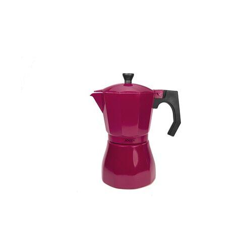 Groupon Goods Global GmbH Jocca Italienische Kaffeemaschine in Lila oder Dunkelrot