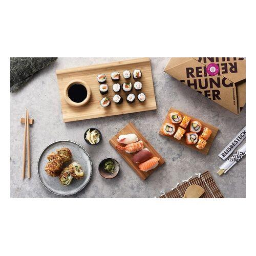 Reishunger Sushi-Set für 4 Personen mit hochwertigen Reis-Produkten von Reishunger (58% sparen*)