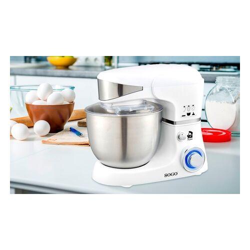Groupon Goods Global GmbH Sogo 3-in-1 Küchenmaschine: Mixer, Blender und Kneter