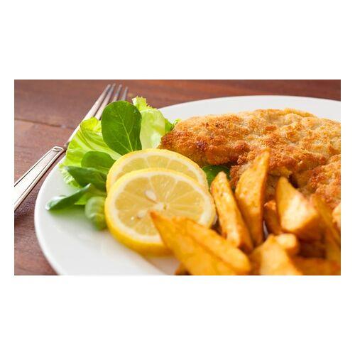 Gaststaette Ambrosius Wiener Schnitzel mit Pommes und Salat für 2 oder 4 Personen in der Gaststätte Ambrosius (bis zu 56% sparen*)
