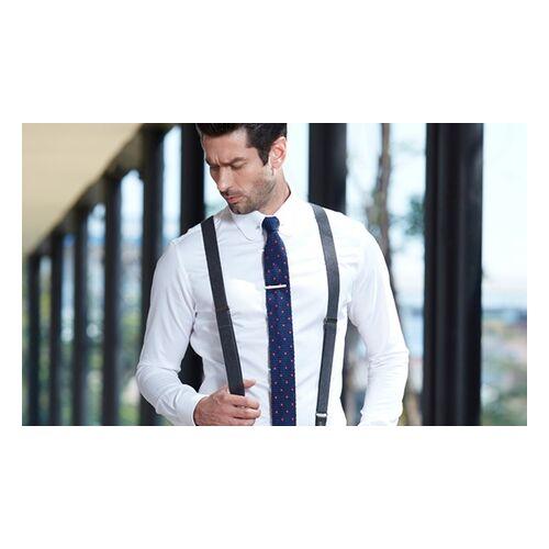 iTailor Maßgeschneidertes Hemd in Weiß oder maßgeschneiderter Anzug in Schwarz von iTailor