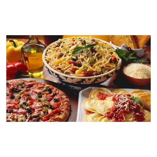 Pizzeria 79 3-Gänge-Menü mit Pasta oder Pizza nach Wahl für bis zu 4 Personen in der Pizzeria 79 (38% sparen*)
