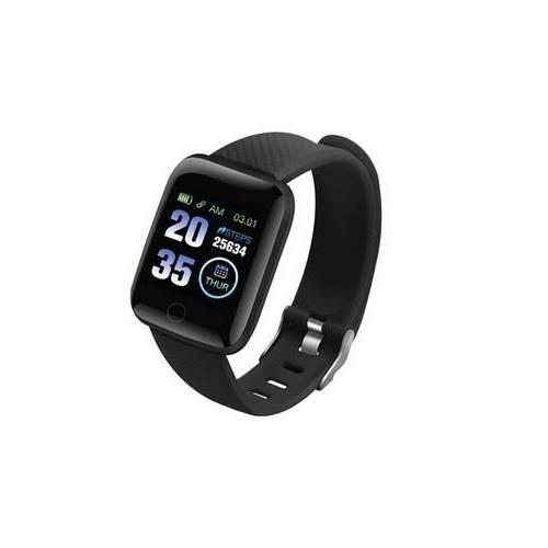 Groupon Goods Global GmbH Bohemic Smartwatch in Schwarz, Modell: BO-12-SW