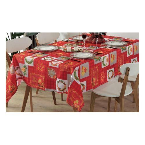 Groupon Goods Global GmbH Weihnachtliche Tischdecke mit dem Motiv und in der Größe nach Wahl