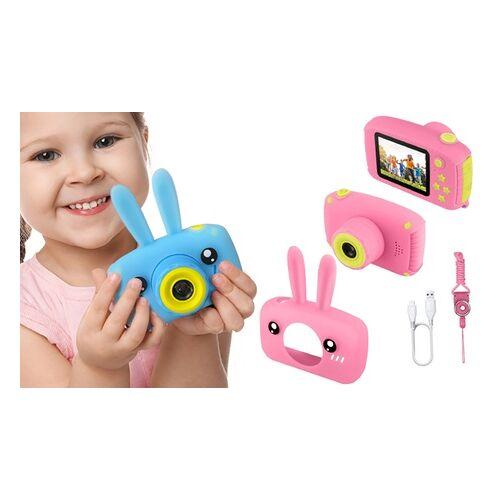 Groupon Goods Global GmbH Kinder-Digitalkamera in Rosa oder Blau, optional mit Speicherkarte