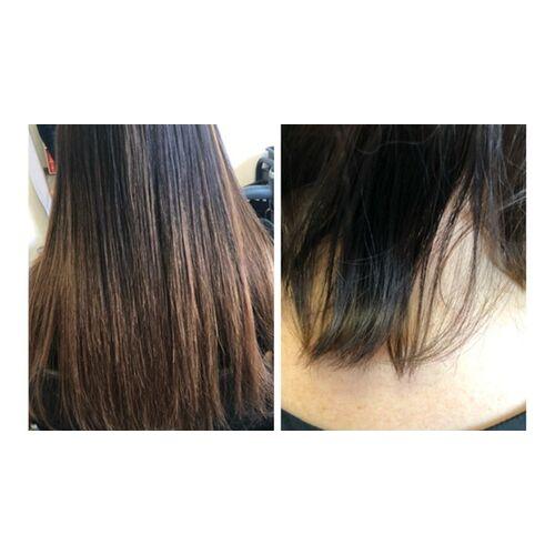 Vip Haarverlängerung Haarverlängerung mit 50 oder 100 Echthaar-Extensions à 40 cm mit Schnitt bei Vip Haarverlängerung (38% sparen*)