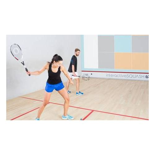 Paderborner Squash Club Interactive-Squash inkl. Leihschläger, -ball & Sauna für 2 Pers. im Paderborner Squash Club (bis zu 63% sparen*)