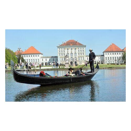 Gondel Nymphenburg 30 oder 60 Min. romantische Gondelfahrt auf dem Nymphenburger Schlosskanal oder dem Wörthsee mit Gondel Wörthsee
