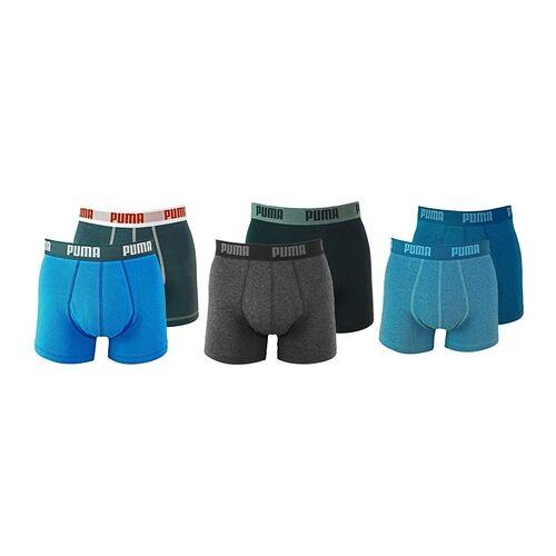 Groupon Goods Global GmbH Puma 4er-Pack Herren-Boxershorts im Modell und Farben-Set nach Wahl