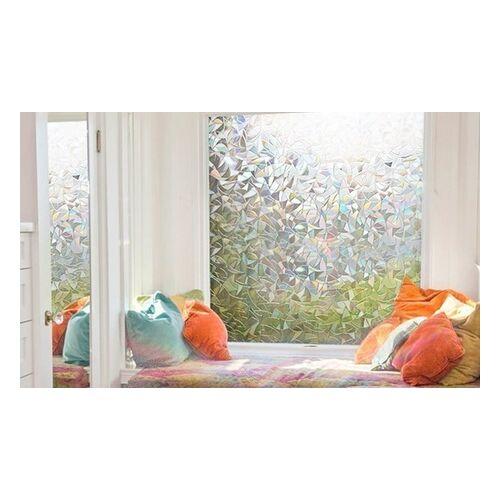 Groupon Goods Global GmbH 1x oder 2x dekorative Fensterfolie Blumen oder Mozaik