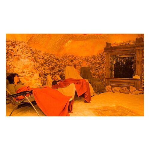 Oasa Salzgrotte 20 Minuten Solenebel-Kabine für 2 Personen oder Salzgrotten-Aufenthalt in der Oasa Salzgrotte ab 9,90 €