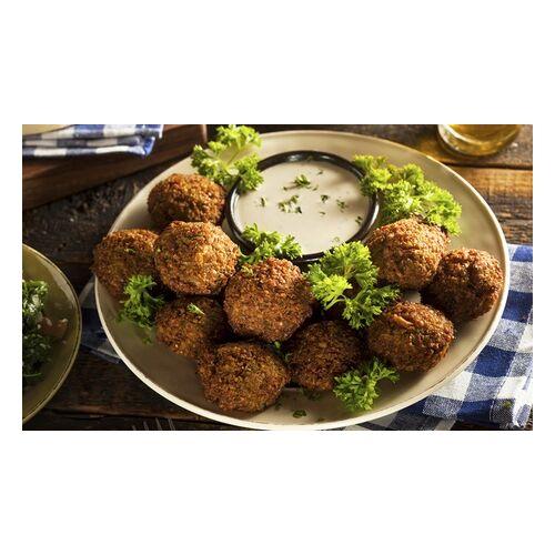 Kebablove Falafel-Teller mit Schwarztee-Flat für 1, 2 oder 4 Personen bei Kebablove (bis zu 34% sparen*)
