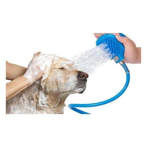 Groupon Goods Global GmbH 1x oder 2x 2-in-1 Gartenschlauch-Hundedusche mit Adapter für Fellreinigung