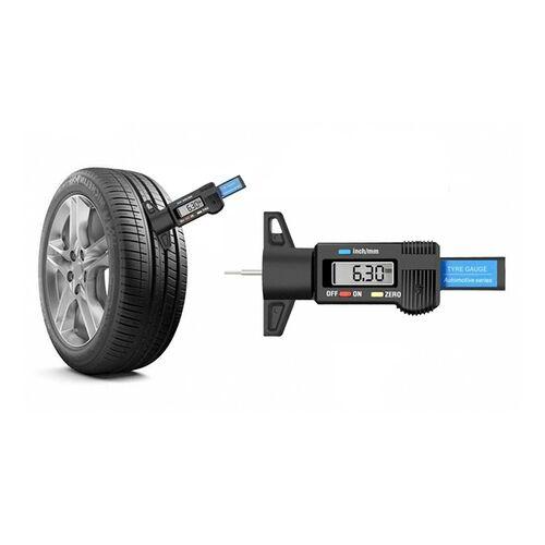Groupon Goods Global GmbH 1x, 2x oder 3x digitaler Reifen-Profiltiefenmesser mit einem gut lesbaren Display