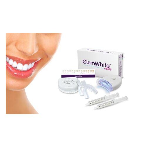Groupon Goods Global GmbH 1x oder 2x GlamWhite Zahnbleaching-Set Elite optional mit Zahnbleaching-Pen oder 1 oder 2 Nachfüllungen