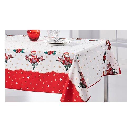 Groupon Goods Global GmbH Tischdecke mit weihnachtlichem Motiv in der Größe nach Wahl