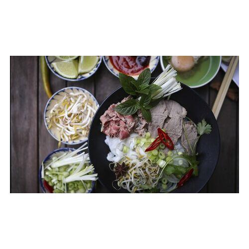 Thi Minh Vietnam Vietnamesisches 3-Gänge-Menü mit Rind oder Tofu für 2 oder 4 Personen im Thi Minh Vietnam (bis zu 49% sparen*)