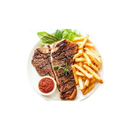 Steakhaus Angusto 3-Gänge-Menü mit Black Angus Rumpsteak (250 g) für 2 Oder 4 Personen im Steakhaus Angusto am Rhein