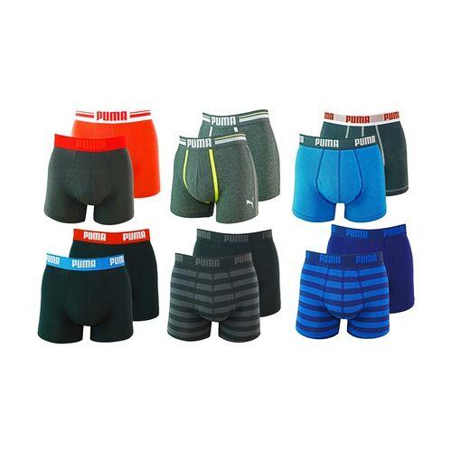 Groupon Goods Global GmbH Puma 6er-Pack Herren-Boxershorts in der Farbe und Größe nach Wahl