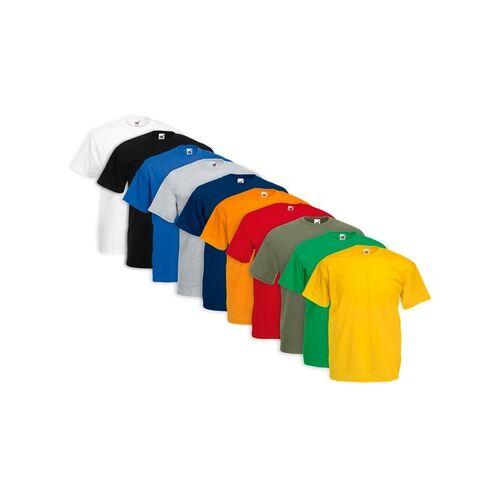 Groupon Goods Global GmbH 10x Fruit Of The Loom T-Shirt in der Farbe und Größe nach Wahl