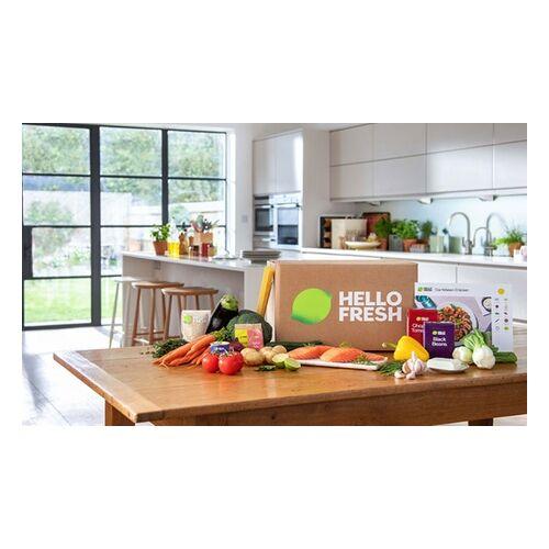 HelloFresh - Deutschlands Nummer 1 Kochbox HelloFresh Kochbox mit Zutaten und Rezepten für 1, 2 oder 4 Wochen für 2 bis 4 Personen (bis zu 50% sparen*)