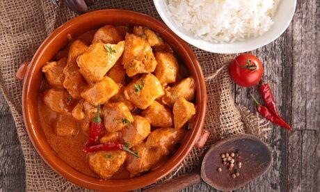 Restaurant Guru 30% Rabatt auf alle indischen Speisen, wie Curry und Tandoori, und Getränke à la carte zum Mitnehmen im Restaurant Guru
