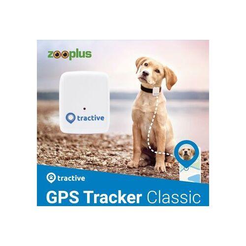 Wie neu: Tractive GPS Tracker für Hunde (Modell 2018)   EXKL. ABO   Zooplus Edition   weiß