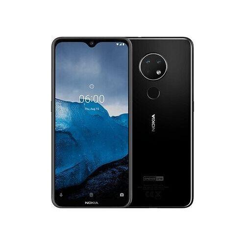 Nokia Wie neu: Nokia 6.2   64 GB   Dual-SIM   schwarz