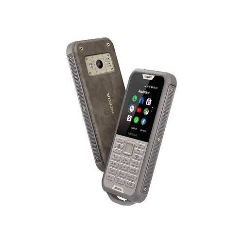 Nokia Wie neu: Nokia 800 Tough   Dual-SIM   Black Steel