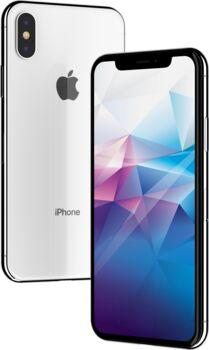 Apple Wie neu: iPhone X 64 GB silber