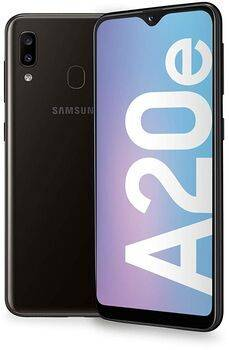 Samsung Wie neu: Samsung Galaxy A20e   schwarz   Dual-SIM