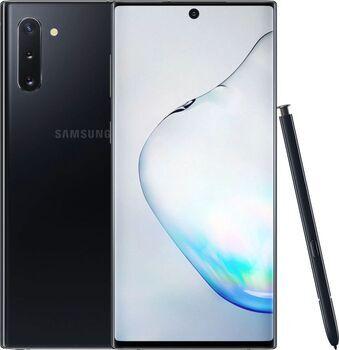 Samsung Wie neu: Samsung Galaxy Note 10 Dual-SIM aura black