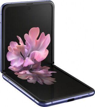 Samsung Wie neu: Samsung Galaxy Z Flip 4G   256 GB   Dual-SIM   mirror purple