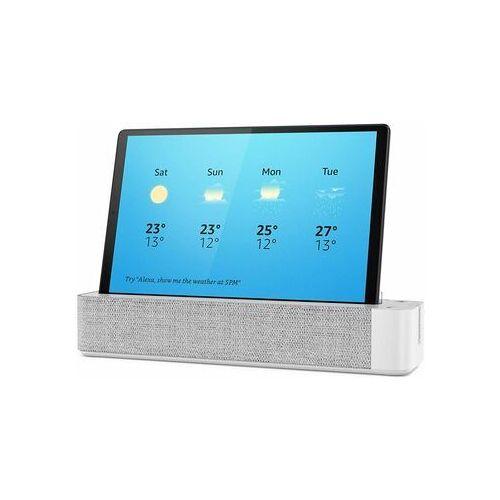 Lenovo Wie neu: Lenovo Smart Tab M10   32 GB   Platinum Grey   LTE   mit Lautsprecher