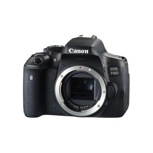 Canon Wie neu: Canon EOS 750D   APS-C   24.2 MP   schwarz