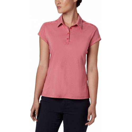 Columbia Peak to Point II Polo rouge pink heather (634) L
