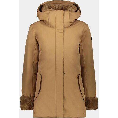 CMP Woman Mid Jacket Zip Hood dune (P839) 46