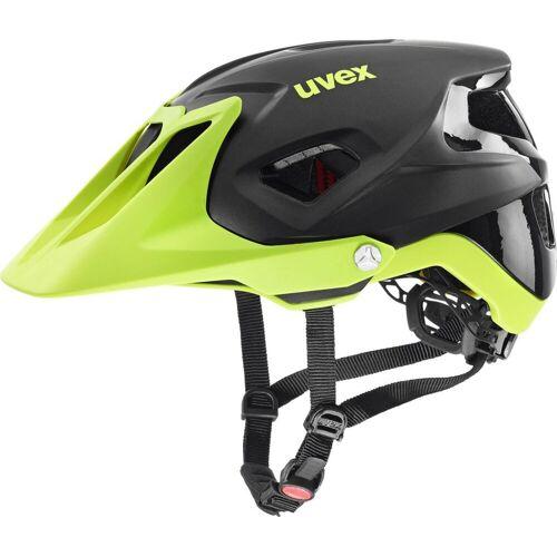 Uvex Quatro Integrale black lime mat