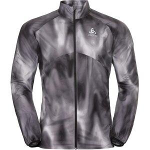 Odlo Jacket Omnius Light odlo concrete grey - black - AOP FW18 (10355) XL