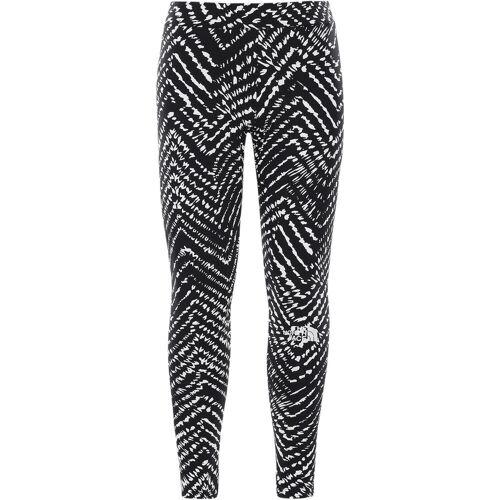 The North Face Girls Cotton Blend Legging BIG Logo tnfblackshiborichevronprt (4ZH) XL
