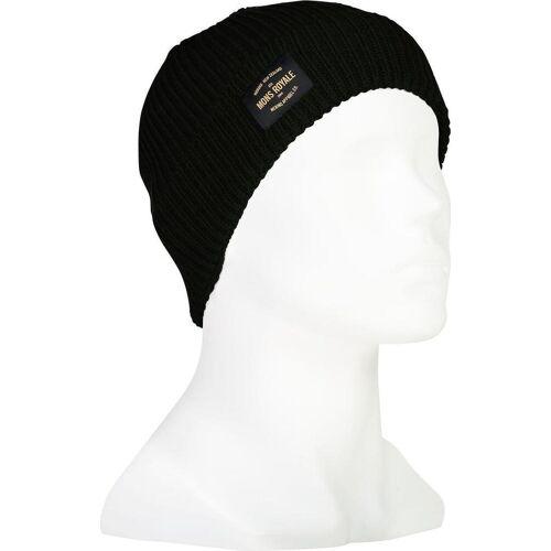 Mons Royale Fisherman's Beanie black (001)