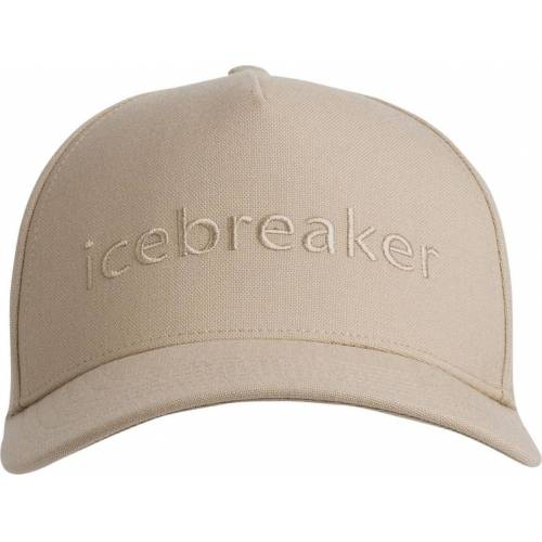 Icebreaker Unisex Icebreaker Logo Hat british tan 212
