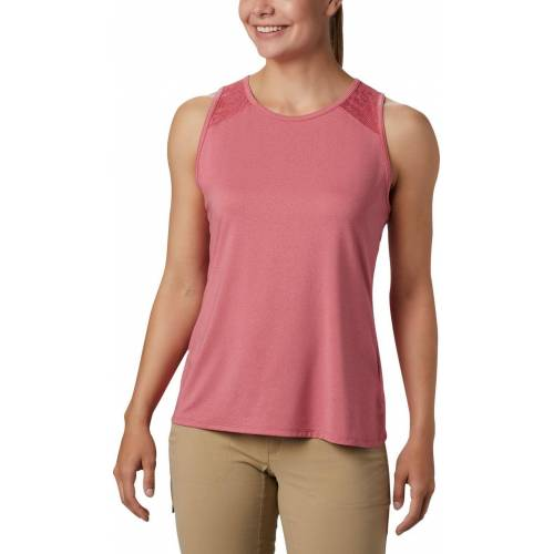 Columbia Peak To Point™ II Tank rouge pink heather (634) S
