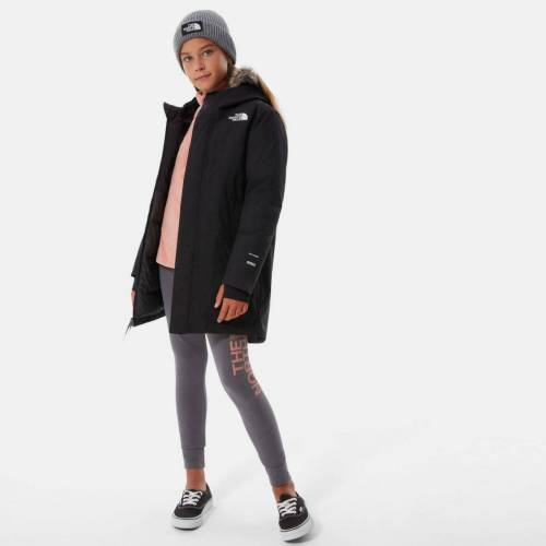 The North Face Girls Arctic Swirl Parka tnf black JK3 L
